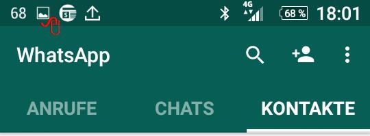verpasster sprachanruf whatsapp löschen